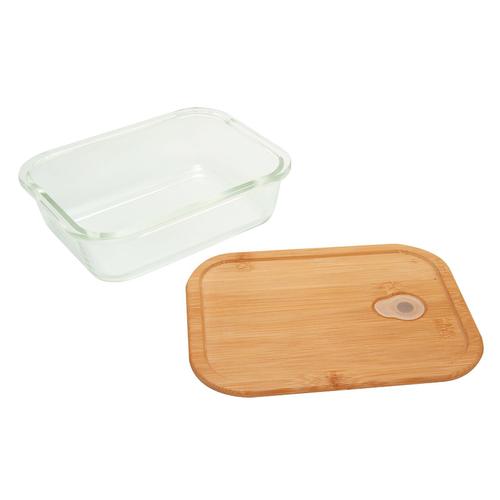 Bento en verre résistant et bambou 800 ml - lunchbox Eco