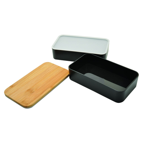 Bento NAGANO bambou 1300 ml - lunchbox 2 compartiments
