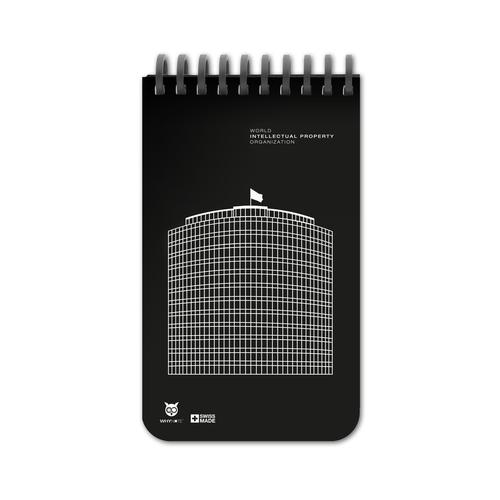 Bloc notes POCKET 9 x 15 cm effacable et personnalisable