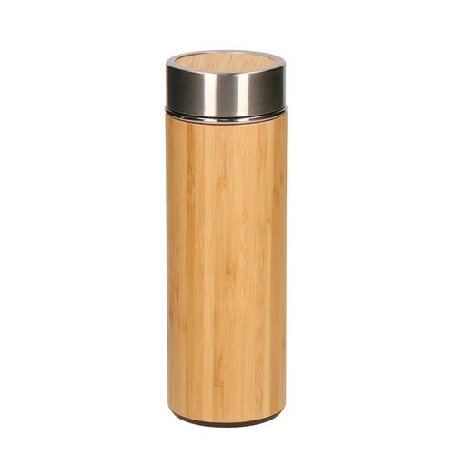 Bouteille isolante en bambou