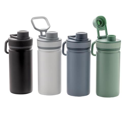 Bouteille isotherme 550 ml en acier inox avec bouchon sport