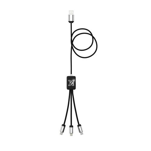 Câble 3 en 1 charge USB EASY