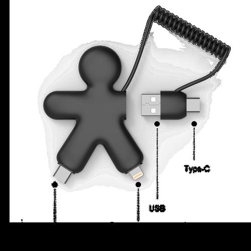 Câble éco multi-connecteur BUDDY