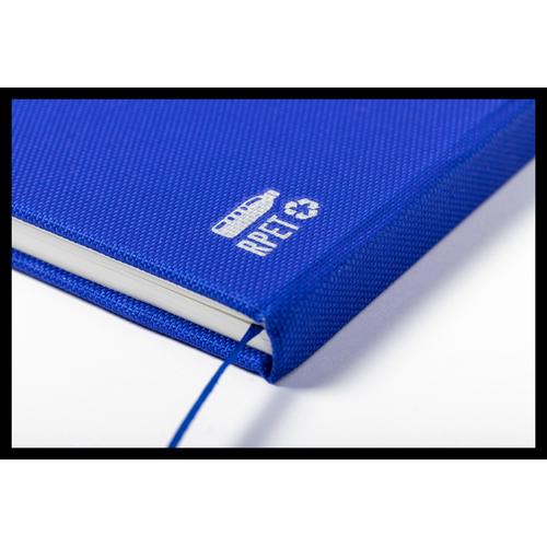 Carnet de notes A5 en RPET - 80 feuilles lignées