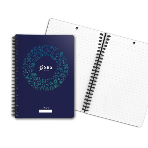 Carnet de notes A5 réutilisable - page effacable 300 fois
