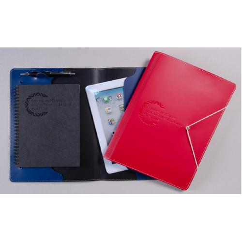 Etui pour tablette numérique en cuire recyclé