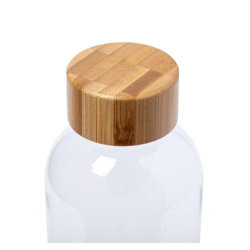 Gourde en RPET sans BPA 500 ml - avec bouchon en bambou