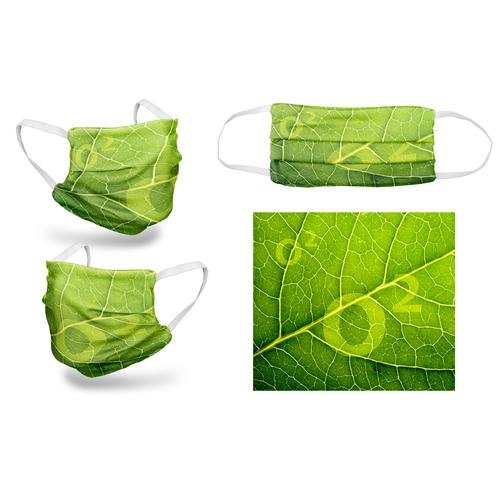Masque tissu 30 lavages UNS1, Design 3 plis