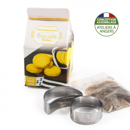 Mini coffret gastronomie biscuits version quadrichromie