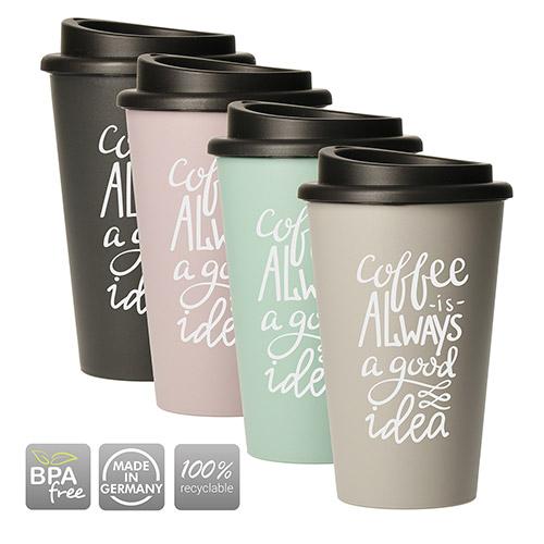 Mug COFFE bioplastique 350ml