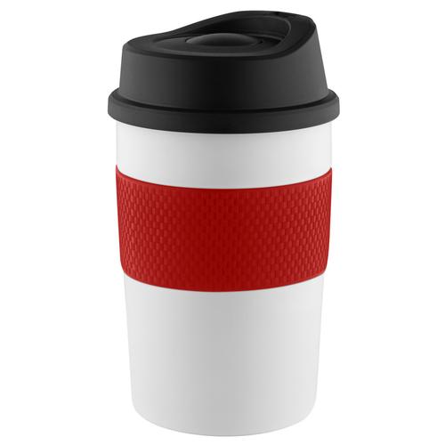 Mug isotherme 300 ml en acier inoxydable - silicone coloris au choix