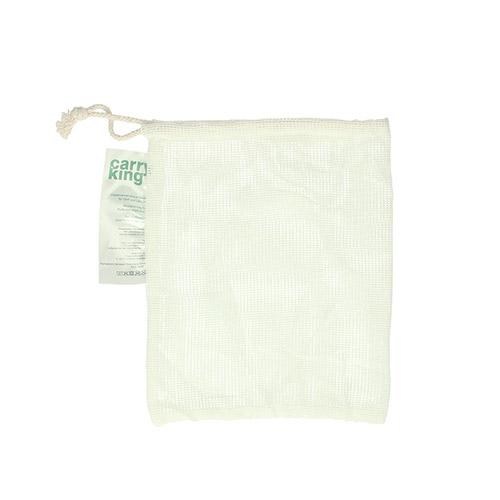 Petit sac à fruits et légumes réutilisable en coton