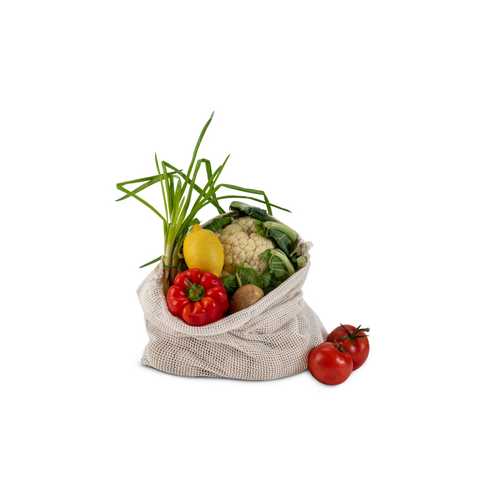 Sac filet à légumes 40x45cm - 100% coton OEKOTEX