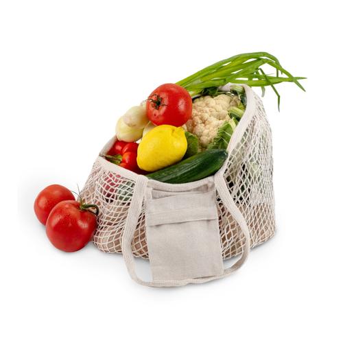 Sac filet à légumes pliable - coton certifié OEKOTEX