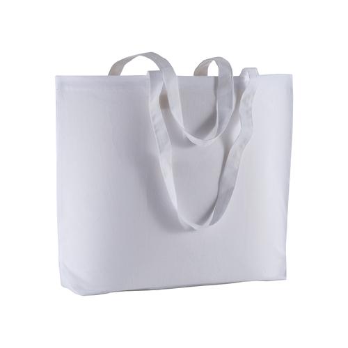 Sac shopping avec soufflet en coton, 135g