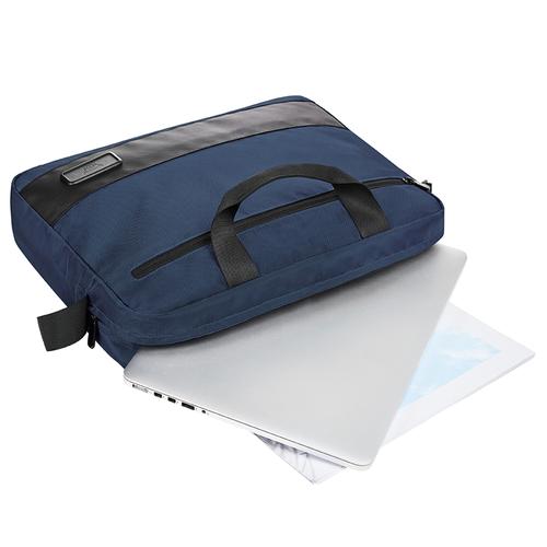 Sacoche ordinateur 15 pouces - en polyester 500D sans PVC
