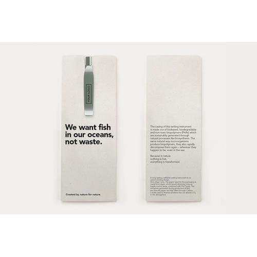 Stylo en plastique biodégradable QS40 TRUE BIOTIC PHA